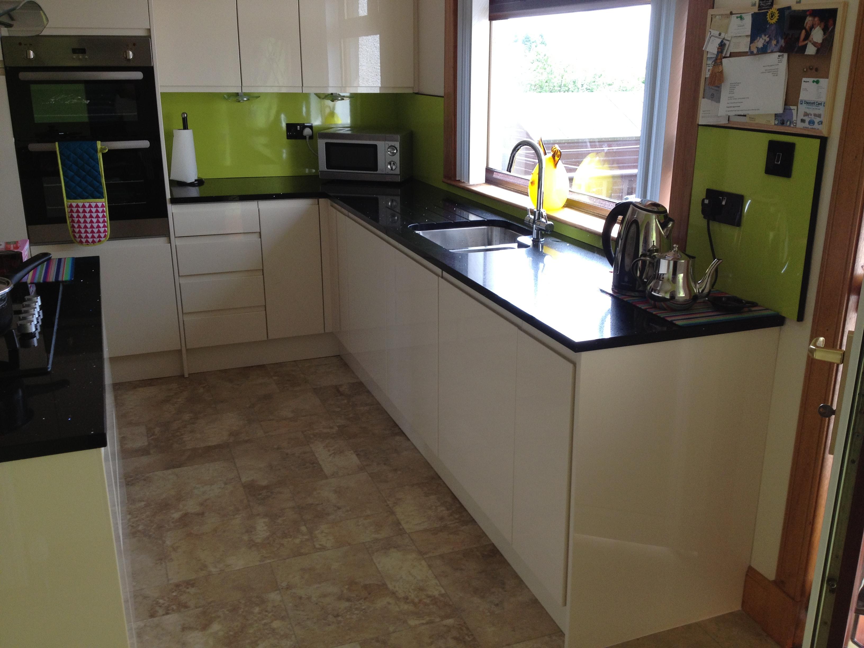 kitchen black starlight quartz countertop ayrshire granite